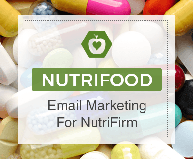 Email Marketing Service For Nutrition Firm Thumb