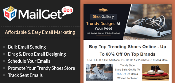 Email Marketing Service For Trendy Shoe Stores & Boot Suppliers
