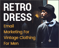 MailGet Bolt – Email Marketing Service For Vintage Clothing & Accessories For Men