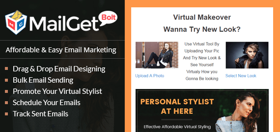 Email Marketing Service For Virtual Stylists & Online Fashion Experts