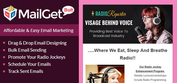 Email Marketing Services For Radio Jockeys Slider