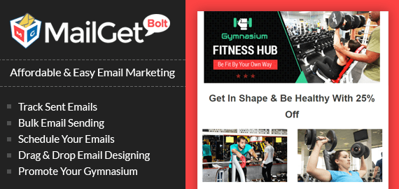 Email Marketing Service For Gyms & Health Clubs