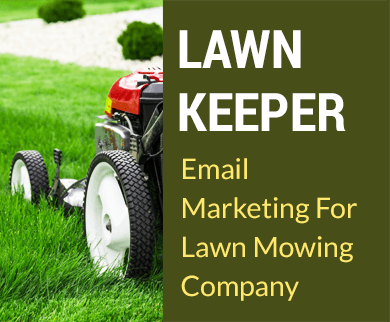 Email markerting for Lawn mowing Lawnkeeper Thumb