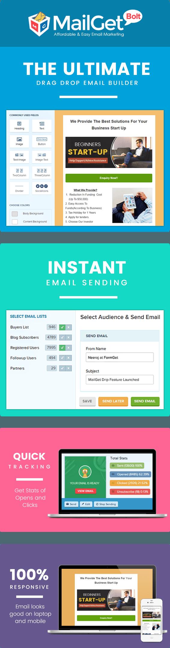 Email marketing for Beginner SalesPage