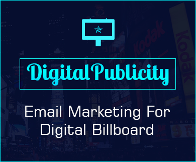 MailGet Bolt – Digital Billboard Email Marketing Service For Electronic Display Providers
