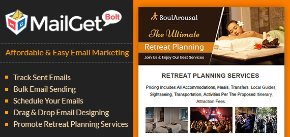 Email marketing for retreat agency banner 01