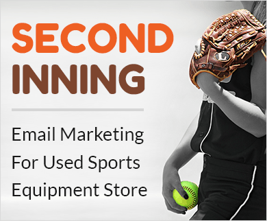 Email marketing service for used sports equipments Thumb
