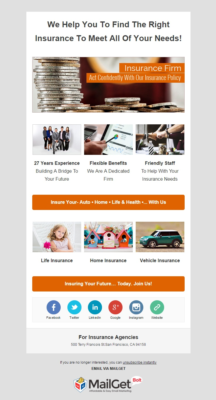 pet insurance email template  10  Best Insurance Email Templates [Insurance Agencies] | FormGet