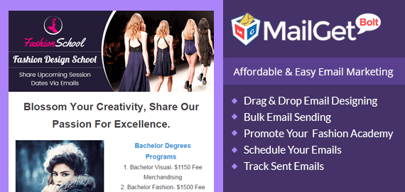 Email Marketing Service For Fashion Academy