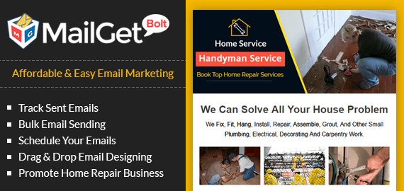 Email Marketing Service For Home Repair Businesses