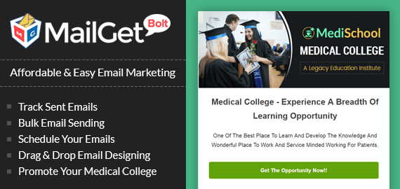 Email Marketing Service For Medical Colleges & Veterinary Schools