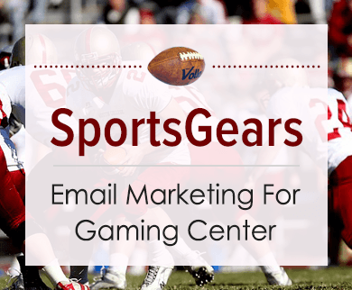 Sports Accessories Retailers Email Marketing Service