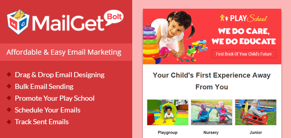 Play Schools Email Marketing Service Slider-New