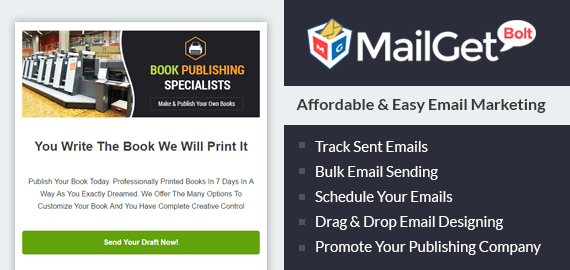 Email Marketing For Publishing Company