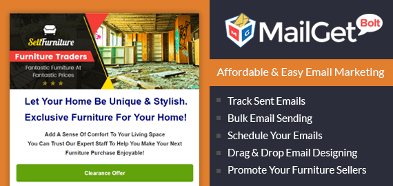 Email Marketing Service For Furniture Trading