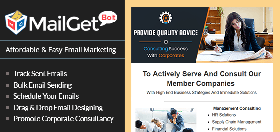Email Marketing Service For Corporate Business Consulting Firms & Advisers