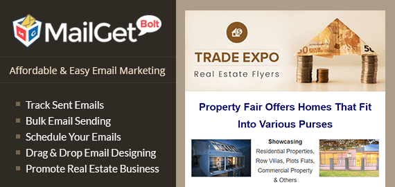 Email Marketing Service For Property Fairs