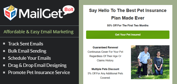 Email Marketing Service For Pet Insurance Companies & Agencies