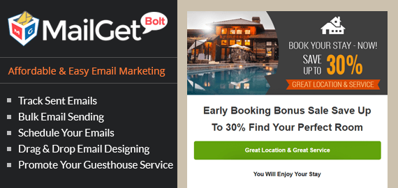 Email Marketing Service For Guest Houses