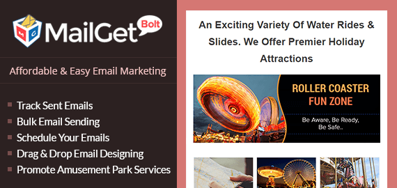 Email Marketing For Amusement Park