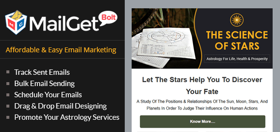 Astrologers Email Marketing Service