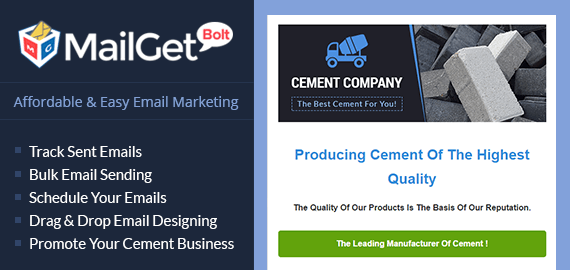 Email Marketing Service For Cement Dealers