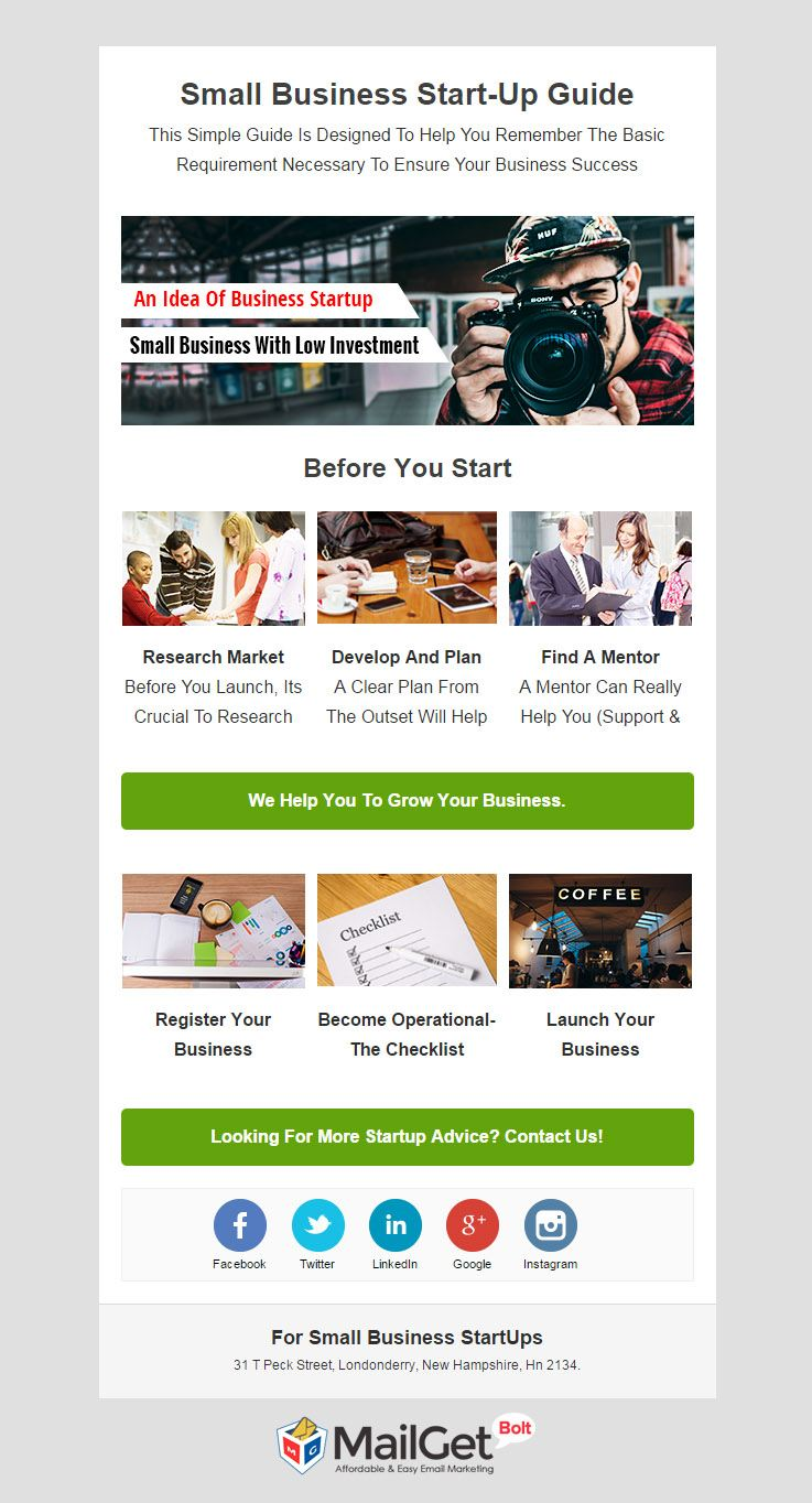 9 best startup email templates for business startups formget small business startups email templates flashek Image collections