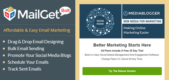 Email Marketing For Social Media Blogger & Writer