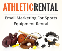 MailGet Bolt – Sports Equipment Rental Email Marketing Service For Game Gear & Athletic Wear