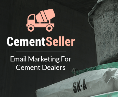 MailGet Bolt – Email Marketing Service For Cement Dealers & Cement Suppliers