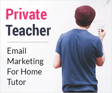 Home Tutor Email Marketing Service