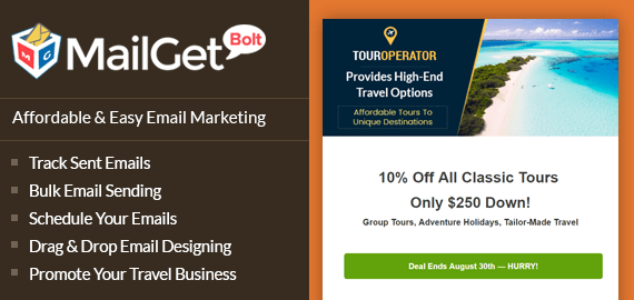 Email Marketing Service For Tours & Travels Agencies