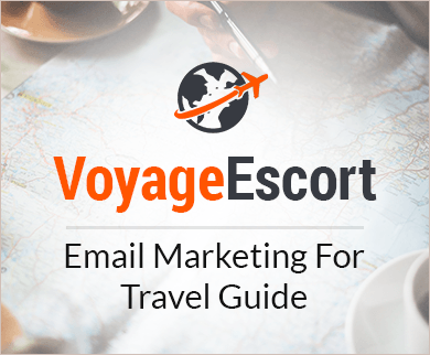 Travel Guide Email Marketing Service