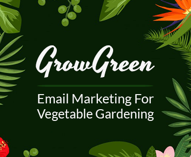 Vegetable Gardening Email Marketing Service