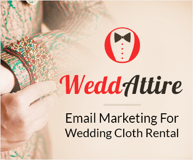 MailGet Bolt – Wedding Cloths Rental Email Marketing Service For Dress Hiring Services