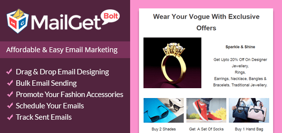 email marketing for fashion accessories Slider-New