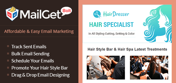 email marketing for hair style bars Slider