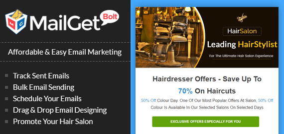 hair salon banner