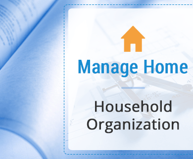 household organisation thumb