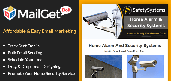 Email Marketing For Security Camera & Alarm Installation