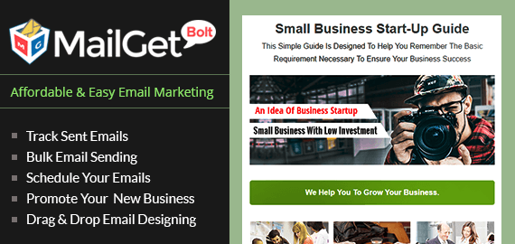 Email Marketing Service For Small Business StartUps
