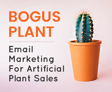 MailGet Bolt – Artificial Plant Sale Email Marketing Service For Decorative Herbs, Bogus Flora