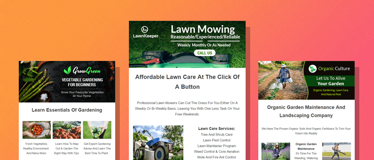 6+ Best Gardening Email Marketing Services For Landscapers & Lawn Care Operators