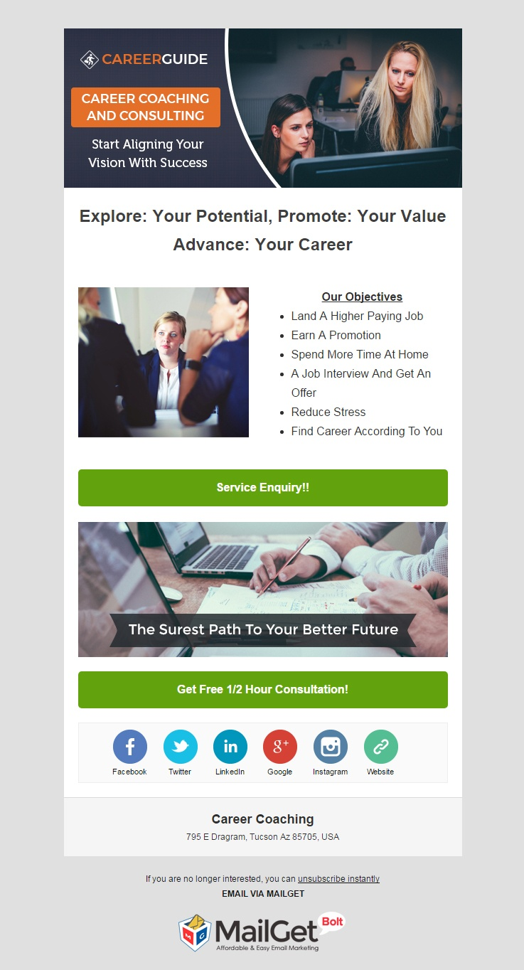 Email Marketing For Career Coaching