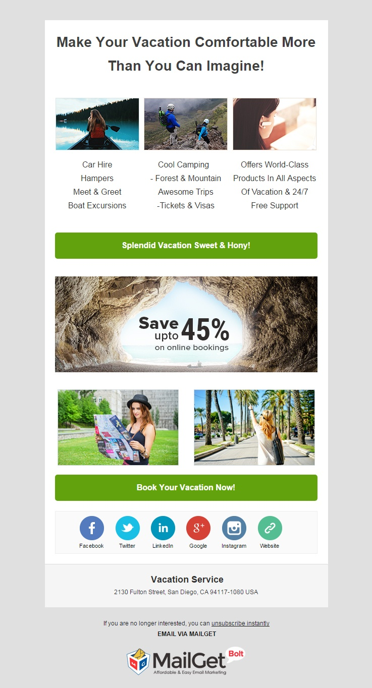Email Marketing Software For Vacation Services