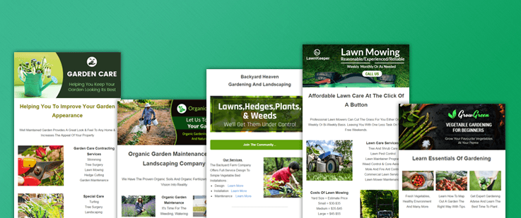 6+ Best Gardening Email Templates For Landscapers & Lawn Designers