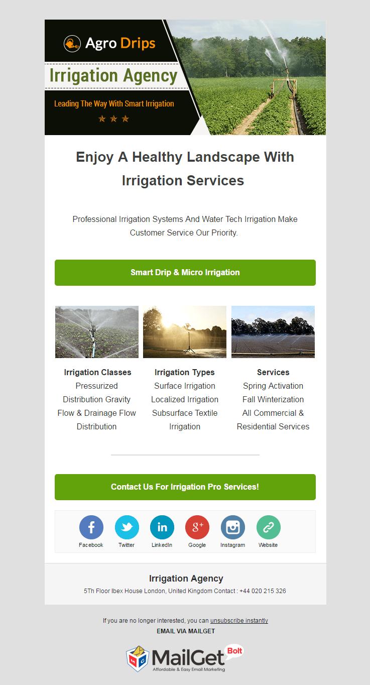 Irrigation Agency