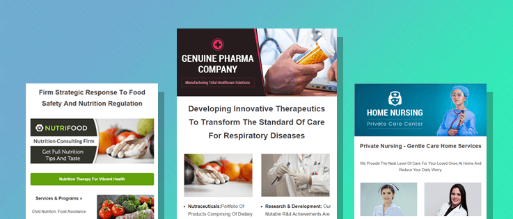 14+ Best Healthcare Email Templates