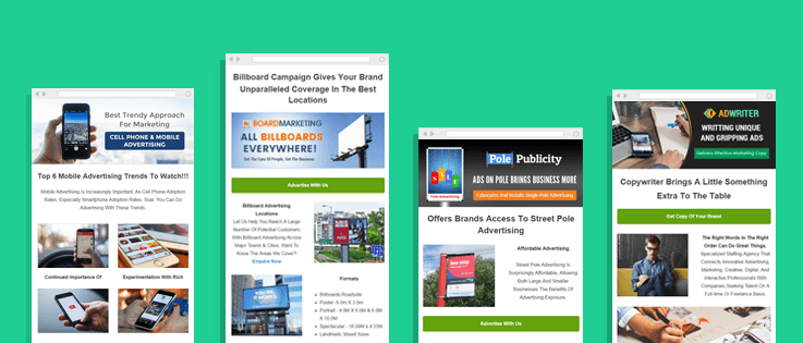 Best Advertising Email Templates