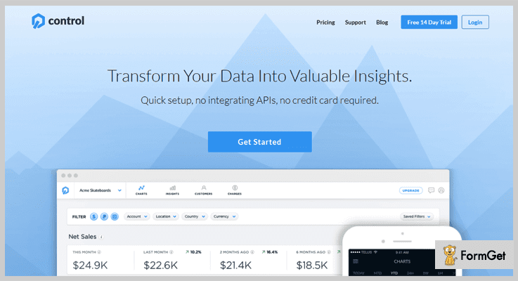 Best PayPal Analytics Software by Control